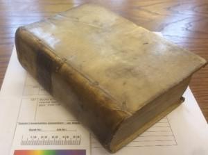 Tract Vol 136 contemporary Dutch vellum binding