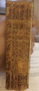 Tract Vol 393 spine leather deterioration