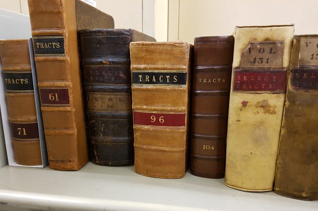Selection of tract volumes after conservation treatment