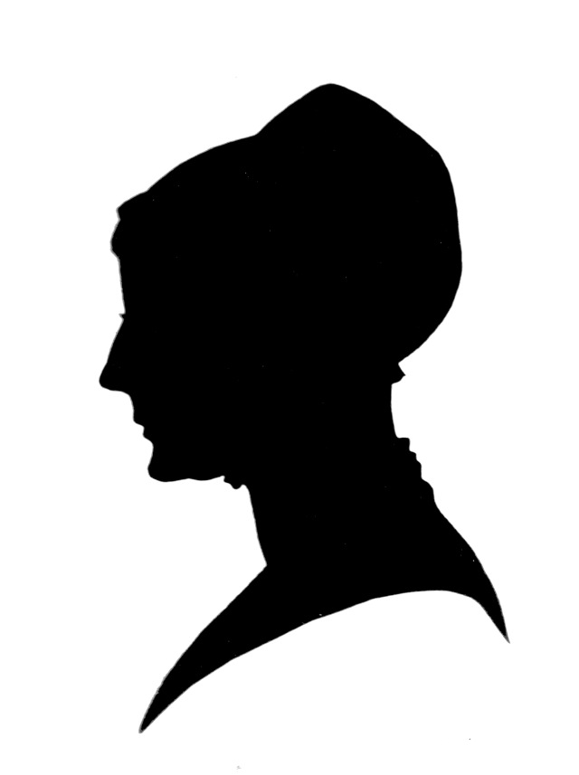 Silhouette of Esther Tuke (1727-1794)