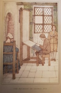 Plate from: L. V. Hodgkin, A Book of Quaker saints (1917)