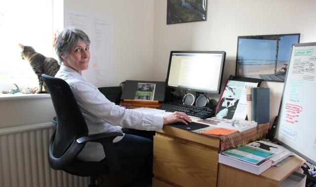 Jill at work